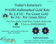 Drop Your Whats App Number as a Comment or Inbox Us Your Name and Location to Join Our Free Daily Gold Rate Update Whats App Club