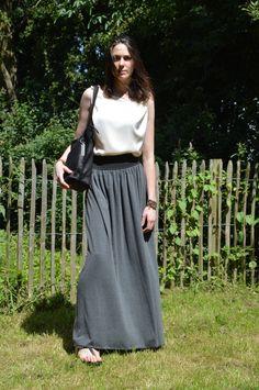 fff76d2e8d3e6d Tutorial   Maxi rok met elastische tailleband – Histoires de Couture