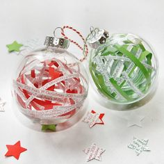 Personalised Paper Ribbon Bauble from notonthehighstreet.com