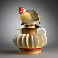 Произведения искусства из обычной глины: эксцентричные чайники-птицы Annette Corcoran - Ярмарка Мастеров - ручная работа, handmade
