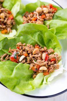 20 Minute Pork Lettuce Wraps Recipe | Yummly