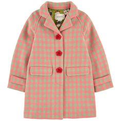 Пальто из меланжированной шерсти