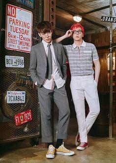 Daehyun and Himchan
