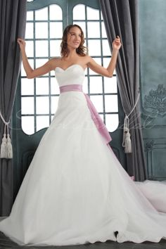 $215.99 w/o shipping, $255.99 w/ shipping ~ Name: Penelope Gown.  SKU#: 80007.  Silhouette: A-Line.  Neckline: Sweetheart.  Train: Court.  Fabric: Tulle, Taffeta.  Back Closure: Corset Back.