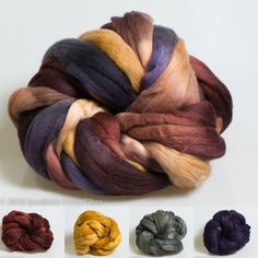 """A Little Bit Country"" Merino/Silk August 2016"