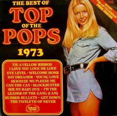 The Best Of Top Of The Pops LP compilation featuring more anonymous covers of hits than you can shake a flared trouser leg at. Complete with giant pin-up calendar poster. Playlists, Top Music Hits, Pop Music, Lps, Nostalgic Music, Pop Albums, Pochette Album, Pop Rock, Lp Cover