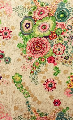 LAST ONE Fulham Road quilt or craft fabric by by FabricShoppe
