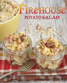 This Firehouse Potato Salad is sure to be a hot-ticket dish at your next picnic or barbecue!