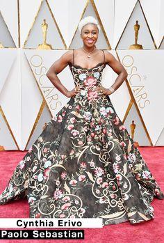 TOP Looks do Oscar 2017 Cynthia Erivo