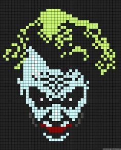 Harley Quinn Pixel Art Brik Pixel Art Designs