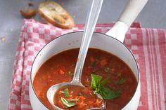 Einfache Paprika - Tomaten - Suppe 1
