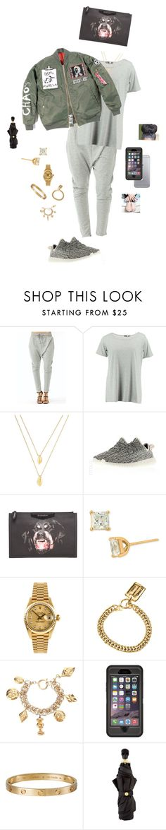 """""""Dab"""" by destinee1019 ❤ liked on Polyvore featuring Boohoo, Jules Smith, adidas, Givenchy, Nordstrom, Rolex, Chanel, OtterBox and Alexander McQueen"""