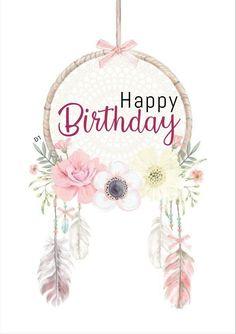 Buon Compleanno Cappello Torta con Finto Candele Rosa//Bianco Nuovi Etichetta