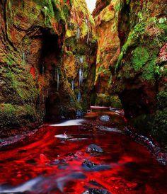 Blood River, Devils Pulpit, Gartness, Scotland: