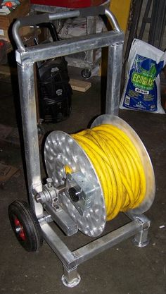 Extension Cord Reel Cart