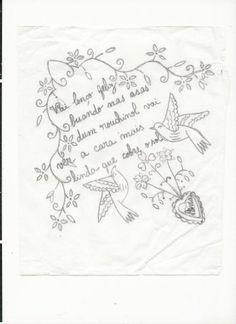 Vivo em Braga já vai para 10 anos, e embora não seja nascida e criada minhota, tenho esta região muito perto do coração. Adoro o verde, as pessoas, a gastronomia e… o artesanato.. Desenvolvi … Embroidery Patterns, Hand Embroidery, Adult Coloring Pages, Fun Projects, Needlepoint, Portugal, Crochet, Needlework, Cross Stitch
