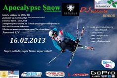 Apocalypse Snow / BIG AIR Turzovka 16.02.2013 – registrácia