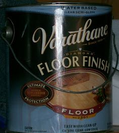 Apply 2 coats of varathane floor finish after 2 coats of your latex paint in semi-gloss