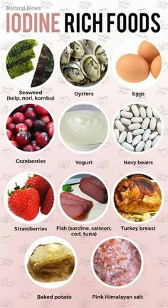 How to Boost Your Thyroid Hormones Naturally Iodine rich foods for your health!Iodine rich foods for your health! Hypothyroidism Diet, Thyroid Diet, Thyroid Gland, Thyroid Disease, Thyroid Issues, Thyroid Problems, Foods For Thyroid Health, Thyroid Symptoms, Health Tips