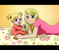 Winry and baby