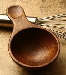 Image result for carved wood ladle