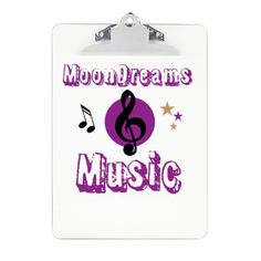 MoonDreams Music Clipboard #MoonDreamsMusic #clipboard #OfficeSupplies