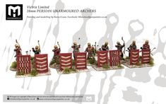 Commission for Victrix Limited 28mm PERSIAN UNARMOURED ARCHERS Grey Knights, Painting Services, Archer, Warhammer 40k, Persian, Miniatures, Action, Christmas Ornaments, Holiday Decor