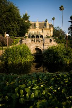 Kimberly Crest, a picturesque French chateau style home built in 1897, is a well preserved example of the Victorian Era in California.