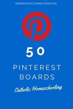 Homeschool Connections: Catholic Homeschooling on Pinterest