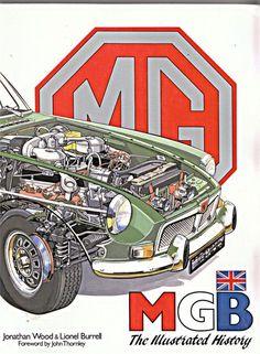 Classic Cars British, British Sports Cars, Vintage Sports Cars, Vintage Cars, Antique Cars, British Car, Automobile, Mg Mgb, Mg Cars