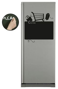 Refrigerateur Course - Ardoise Wall Decal - AllPosters.co.uk