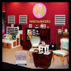 El stand de NAILS&FINGERS en #Ifeba Feria de la Belleza, Cosmetica y Salud 2014, Badajoz, España  @Nails & Fingers