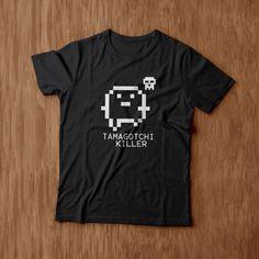 Camiseta Tamagotchi Killer 40R$ http://maroto-s-camiseteria.minestore.com.br/produtos/tamagotchi-killer