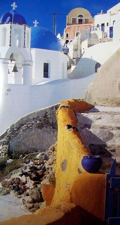 The Old Path, Santorini, Greece. Greece Tours, Greece Travel, Santorini Greece, Mykonos, Travel Pics, Travel Pictures, Wonderful Places, Beautiful Places, Greece Architecture