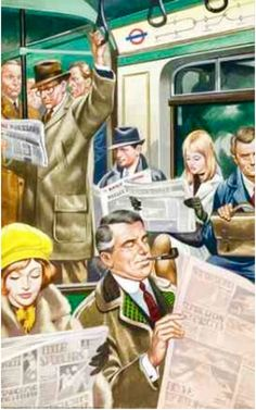 Comics, drawings, photographs and pleasantly musty thoughts from British cartoonist John Bagnall. Vintage Posters, Vintage Art, Sunderland Echo, Ladybird Books, Fictional World, Norman Rockwell, Illustrations Posters, Vintage Illustrations, Vintage Pictures