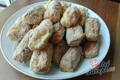 Příprava receptu Křupavá cuketa z trouby, krok 2 Reis Krispies, Krispie Treats, Cereal, French Toast, Breakfast, Desserts, Food, Pump, Author