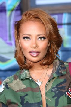 Eva Marcille Photos - Eva Marcille attends Hip Hop Honors: The Game Changers at Paramount Studios on September 2017 in Los Angeles, California. - Hip Hop Honors: The Game Changers' at Paramount Studios Curly Hair Styles, Natural Hair Styles, Honey Brown Hair, Dyed Natural Hair, Hair Game, Auburn Hair, Hair Color For Black Hair, Grunge Hair, Hair Journey