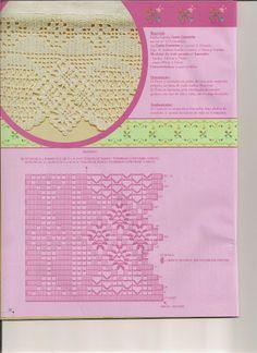 Pontas e entremeios 1 - solange- crochê e tricô - Picasa Albums Web