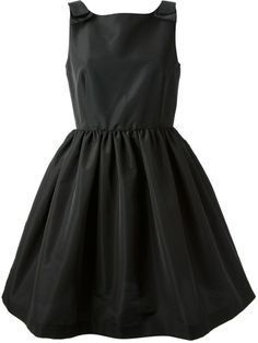 RED Valentino sleeveless empire line dress on shopstyle.com