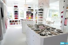 lovlyjubbly: Lisa Vanderpump's home Lol it's like having a little showroom in your house