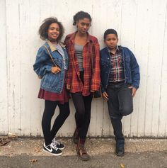 Burgundy and flannels w my siblings #ootd  #trendy4tmrw #fashionblogger #instafashion #fashiongram #fallfashion