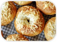 I might have to try this bagel recipe for breakfasts next week.  I haven't made bagels for a while.