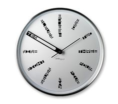 Even the toughest spy couldn't decode this clock! LOL