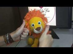 Making off do leãozinho amigurumi!! - YouTube