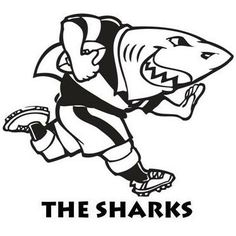 One of the most known South African rugby union teams, the Sharks have a fun and memorable logo, which has stayed with the team since it was officially founded. Lotto Draw, Rugby Union Teams, South African Rugby, Union Logo, Durban South Africa, Rugby Sport, Shark Logo, Super Rugby, Xmas