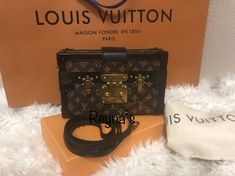 this Petite Malle is adorable! Contact me! price is very reasonable! My Bags, Music Instruments, Louis Vuitton, Louise Vuitton, Musical Instruments