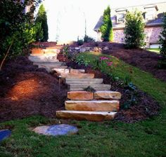66 vorbildliche Beispiele für die optimale Gestaltung der Gartentreppe
