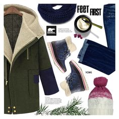 """""""Tame Winter with SOREL: Contest Entry"""" by meyli-meyli ❤ liked on Polyvore featuring Dsquared2, SOREL and sorelstyle"""