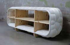 Recycled bubble shaped cabinet http://bit.ly/1DaF5xC
