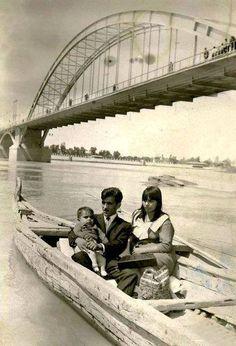 Postcard IRAN the bridge KHORRAMSHAHR